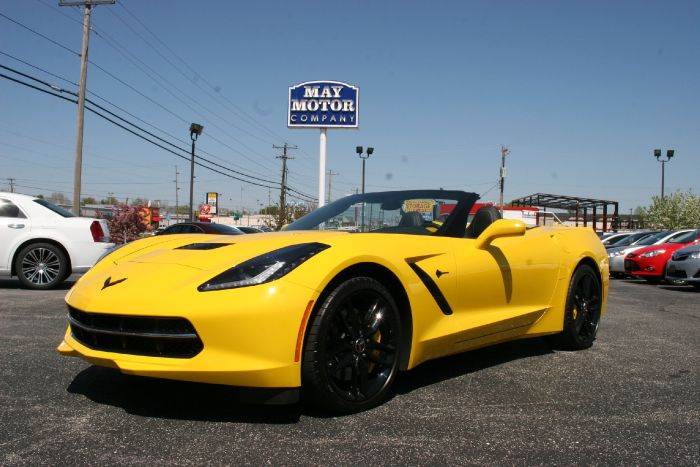 2015 Chevrolet Corvette Stingray Z51 Convertible 2LT