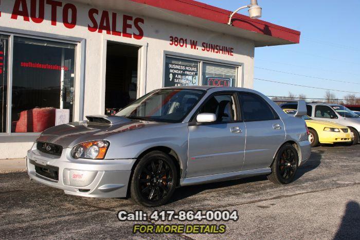 2004 Subaru Impreza Sedan (Natl) WRX STi