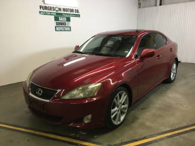 2006 Lexus IS 250 automatic