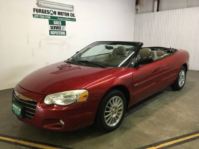 2006 Chrysler Sebring Conv Touring