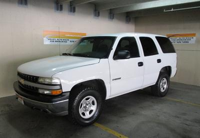 2001 Chevrolet Tahoe Special Service