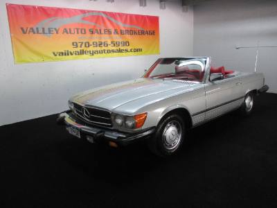 1977 Mercedes 450SL 2 Door Convertible Roadster