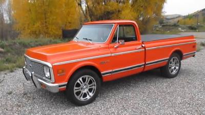 1972 Chevrolet C10 Classic Antique Pickup Truck