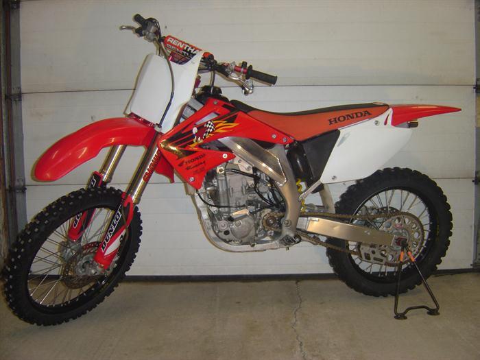 2003 Honda CRF450 Motorcross