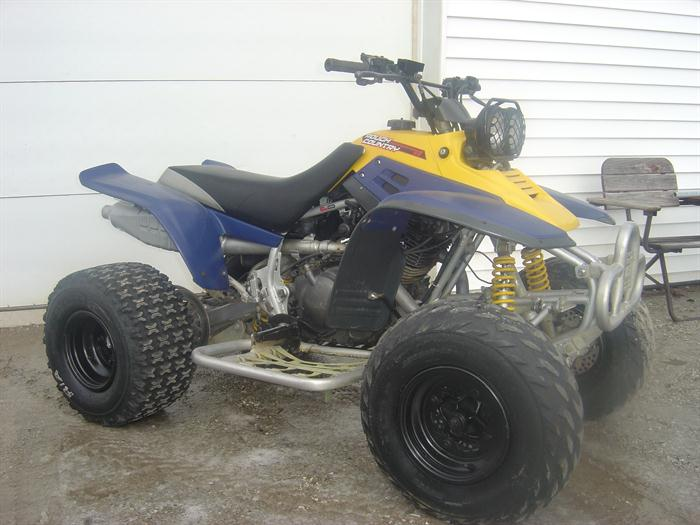 2002 Yamaha YFM350X Warrior
