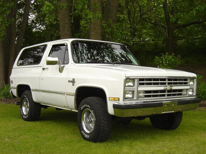 1986 Chevrolet K-5