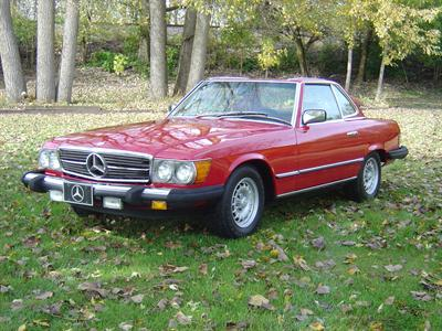 1985 Mercedes-Benz 380 Series 380SL