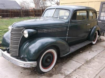 1938 Chevy Majestic Town Car