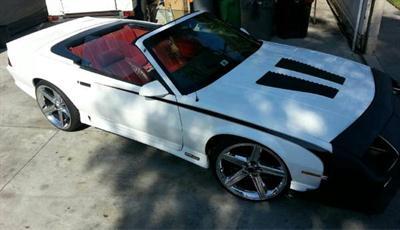 1991 Chevy Camaro Iroc convert
