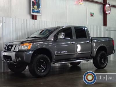 2012 Nissan Titan CREW SL 4x4