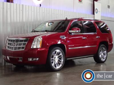 2010 Cadillac Escalade Platinum Edition