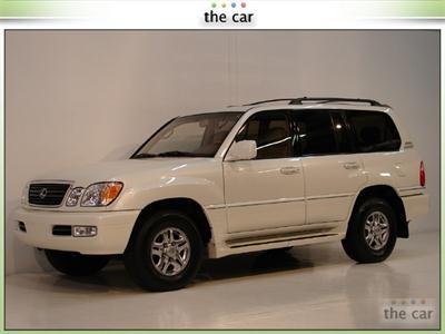 2002 Lexus LX 470 4WD NAVIGATION