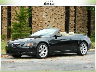 2006 BMW 6 Series 650i CONVERTIBLE