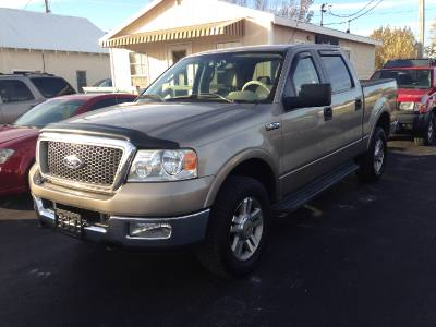 2005 Ford F150 Lariat Supercrew 4x4