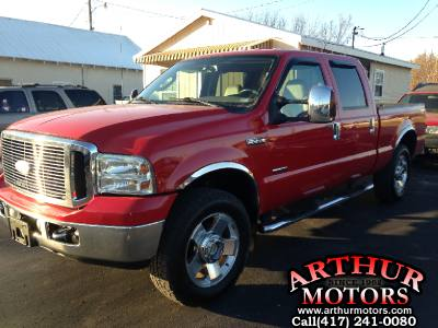 2007 Ford Super Duty F250 4x4 Lariat