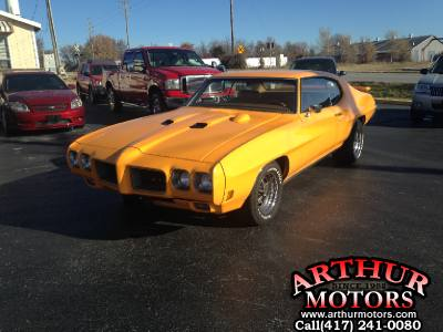 1970 pontiac GTO # matching 400/350 HP, Air, Ps, Pb, 400 At,