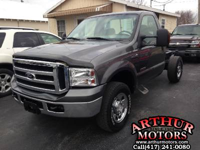 2006 Ford Super Duty F250 4x4 XLT Cab / Chassis