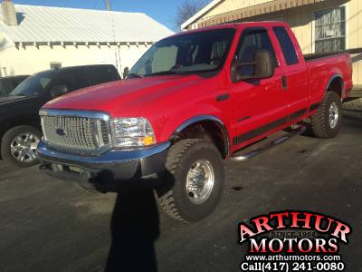 2001 Ford F250 Supercab XLT 4x4 SD 7.3
