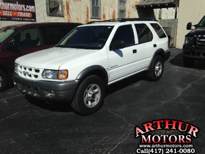 2001 Isuzu Rodeo S AWD