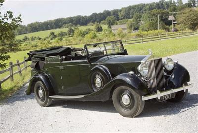 1938 Rolls-Royce Phantom III Four Light Cabriolet
