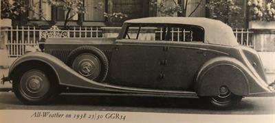 1938 Rolls-Royce 25/30