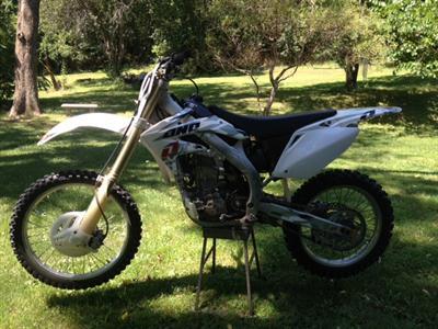 2005 Honda CRF450
