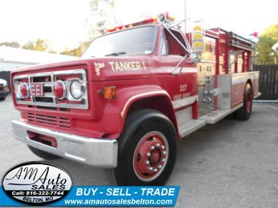 1987 GMC C7000 Fire Truck (TANKER)