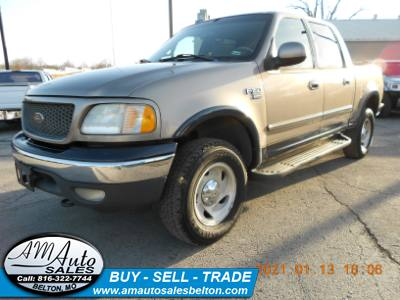2001 Ford F-150 SuperCrew XLT