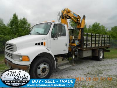2003 STERLING L8500 Knuckle Boom