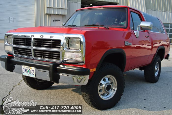 1993 Dodge Ram Charger AW150