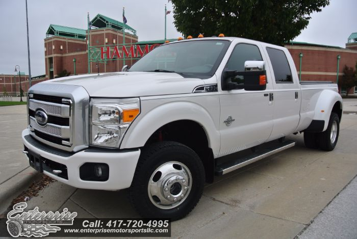 2013 Ford Super Duty F-350 DRW Platinum