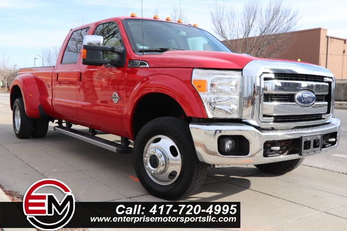 2012 Ford Super Duty F-350 DRW Lariat