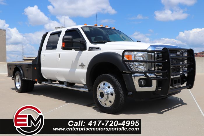 2013 Ford Super Duty F-450 DRW Lariat