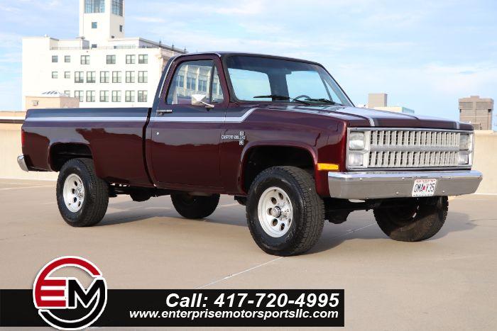 1984 Chevrolet K10 CUSTOM-DELUXE