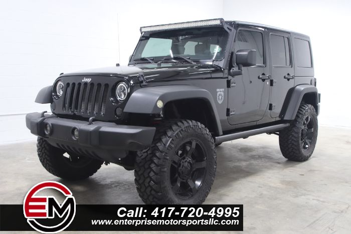 2011 Jeep Wrangler Unlimited RUBICON BLACK OPS EDITION