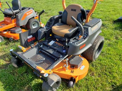 NEW Scag Zero Turn Mower Patriot