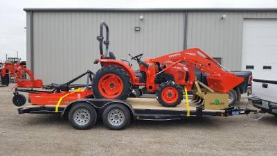 2016 Kubota L3301HST TRAILER KIT