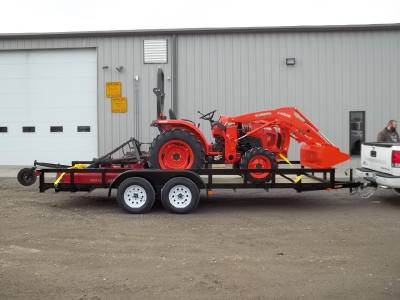 2016 Kubota L2501HST TRAILER PACKAGE