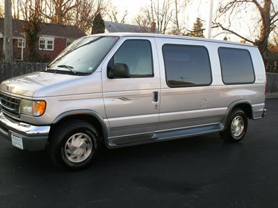 2001 Ford Econoline Cargo Van Recreational