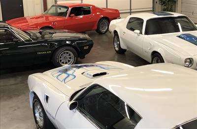 1970-73 All Pontiac Trans Ams