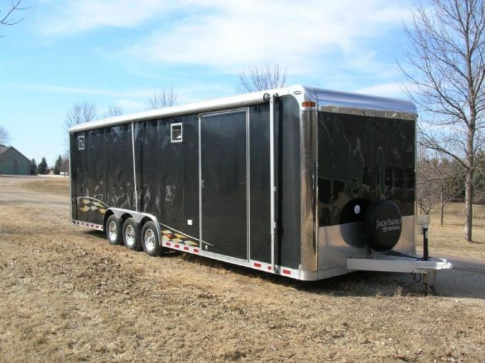 2000 Pace American 28' foot Trailer
