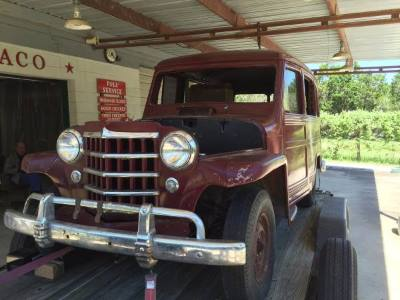 1950 Willy's Wagon