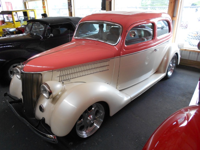 1936 Ford Slantback