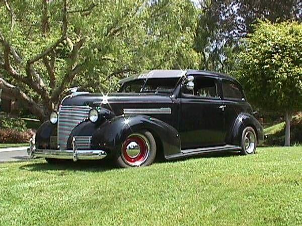 1939 Chevrolet Sedan 1