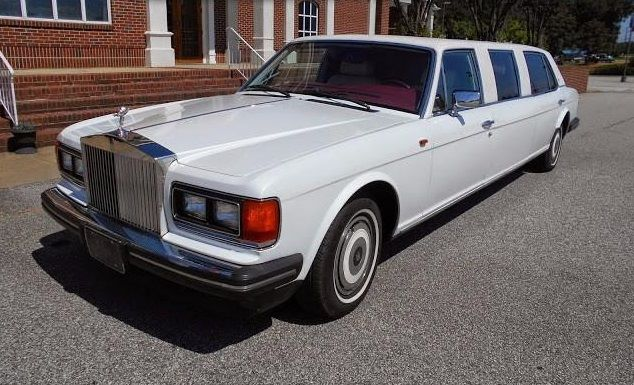 1989 Rolls Royce Silver Spur Limo