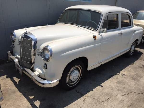 1959 Mercedes Benz 190