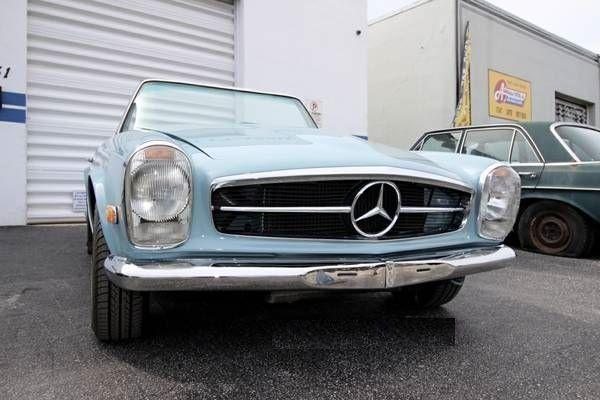 1969 Mercedes Benz 280SL 7