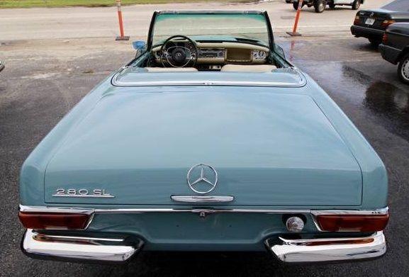 1969 Mercedes Benz 280SL 1