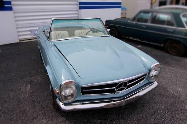 1969 Mercedes Benz 280SL 6