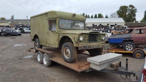 1968 Military Ambulance